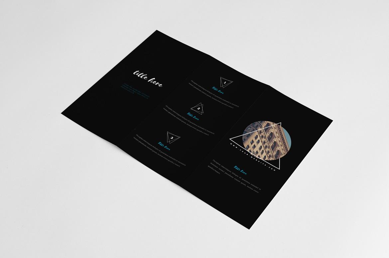 free black portfolio brochure  u2013 kahuna design