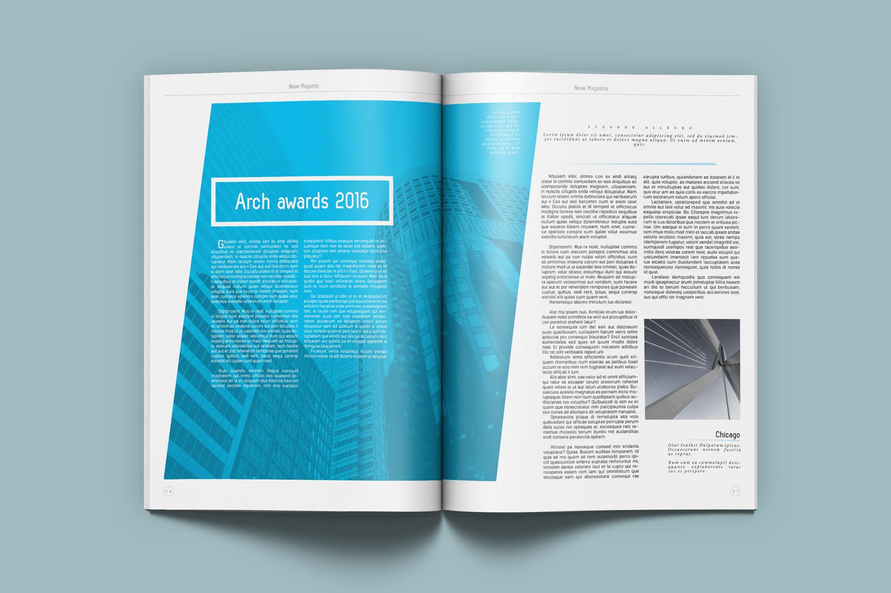 Novo Magazine Kahuna Design Source For Graphic Designers
