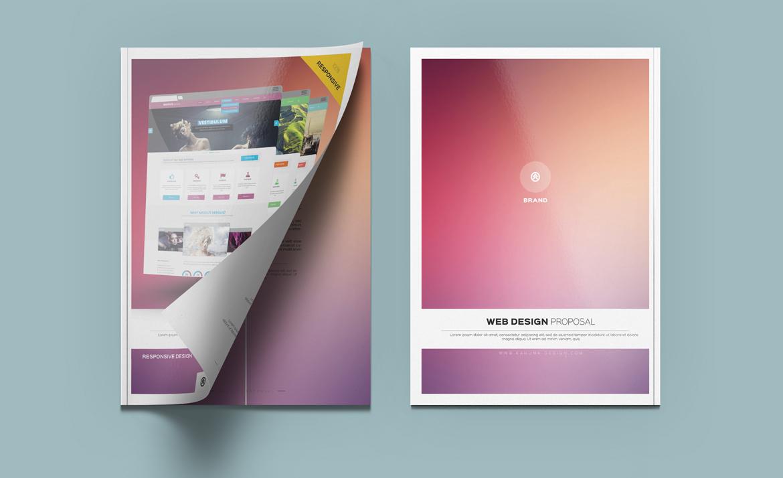 Web Design Proposal – Kahuna Design