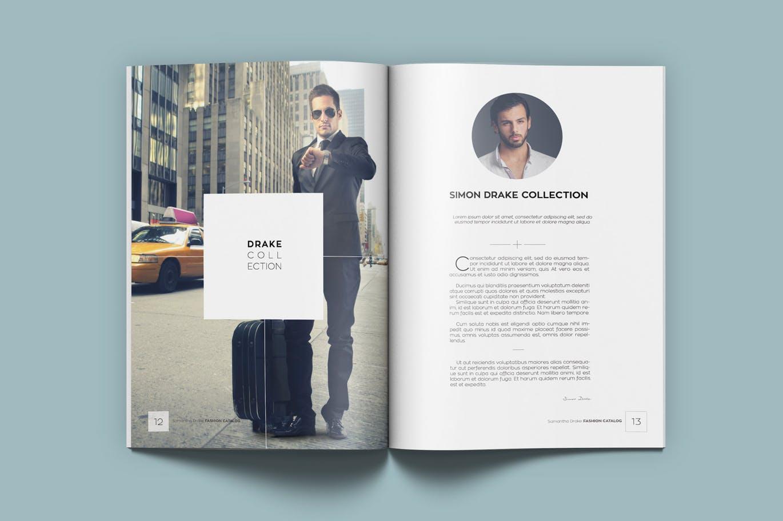 fashion catalog    lookbook  u2013 kahuna design