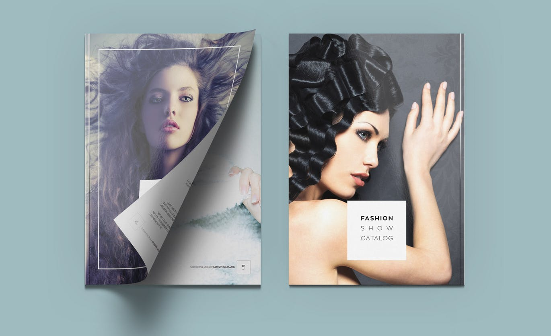 80 Brilliantly Creative and Visually Sharp Fashion Brochure Designs Fashion catalog design ideas