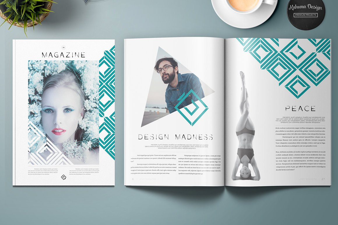 Lemo Magazine Kahuna Design Source for graphic designers